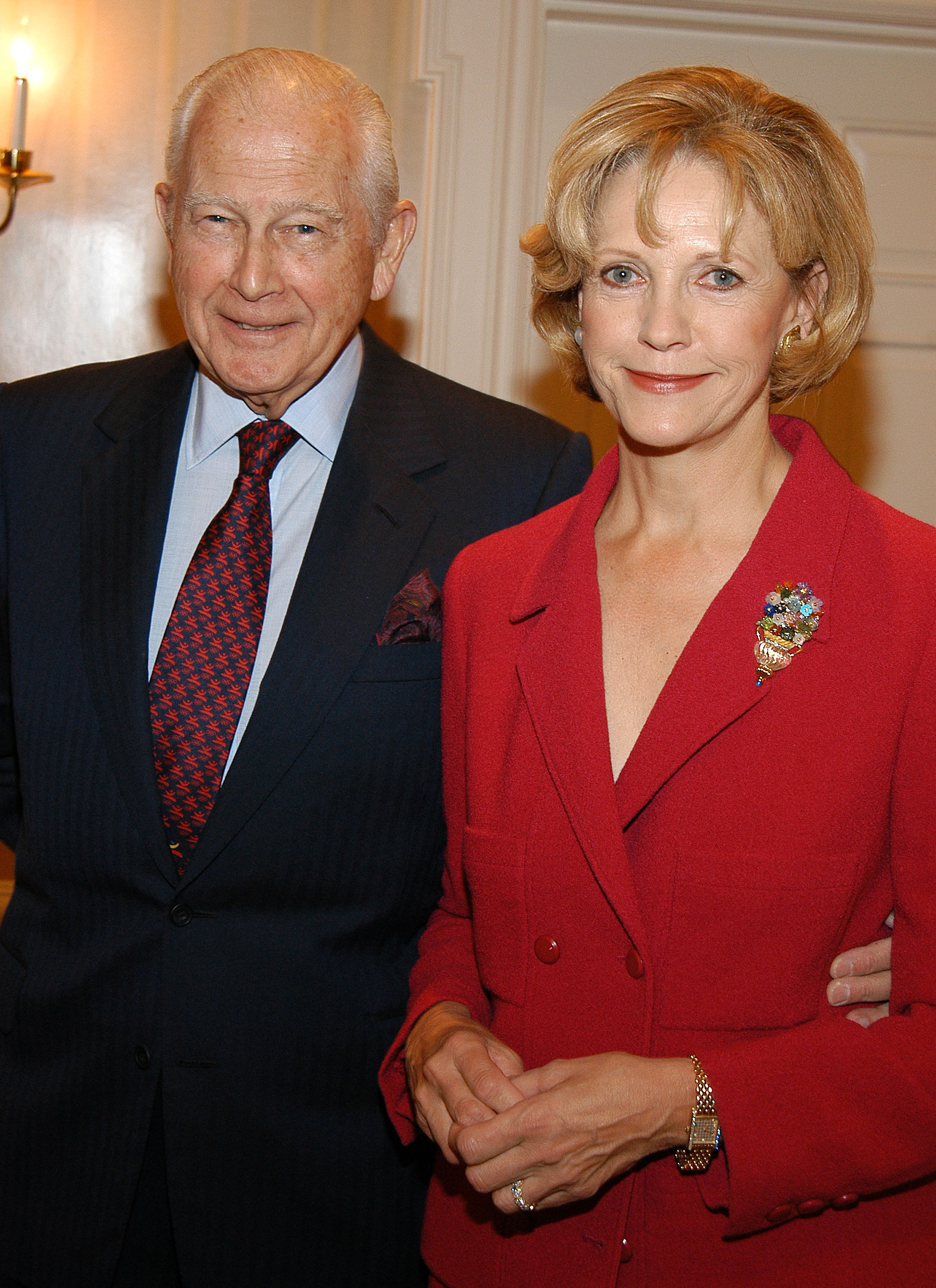 Rupert and Anna Murdoch - they are rumored to have one of the most expensive divorces in Hollywood
