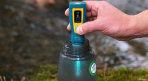 hiking gear water
