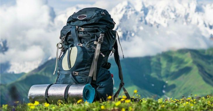 hiking gear backpack