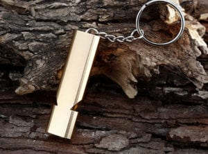 hiking gear whistle