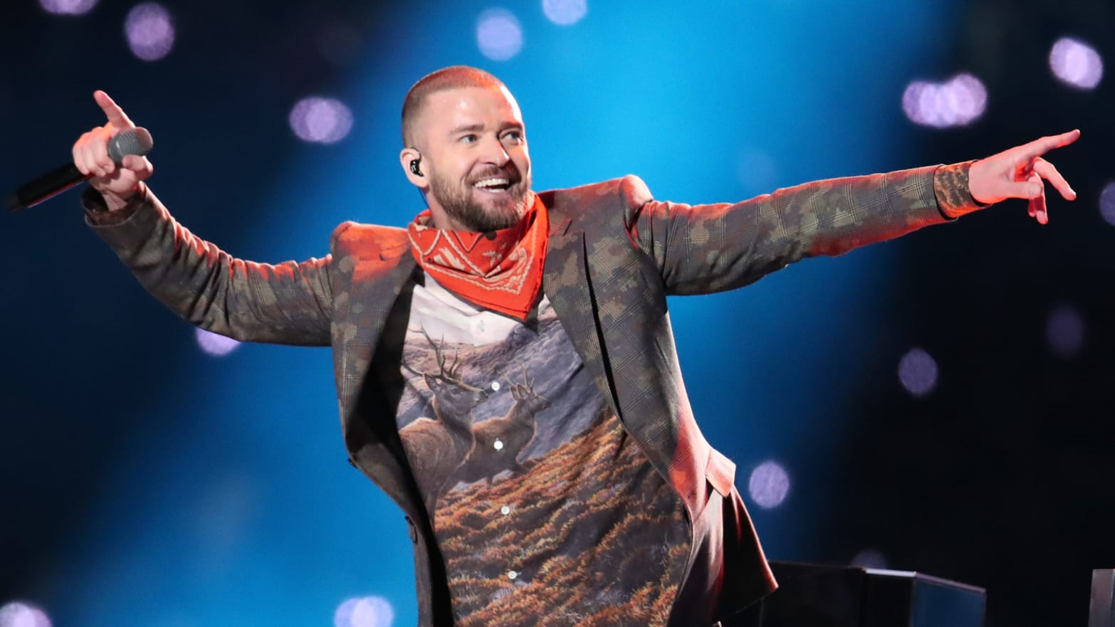 Justin Timberlake superbowl performance in 2018