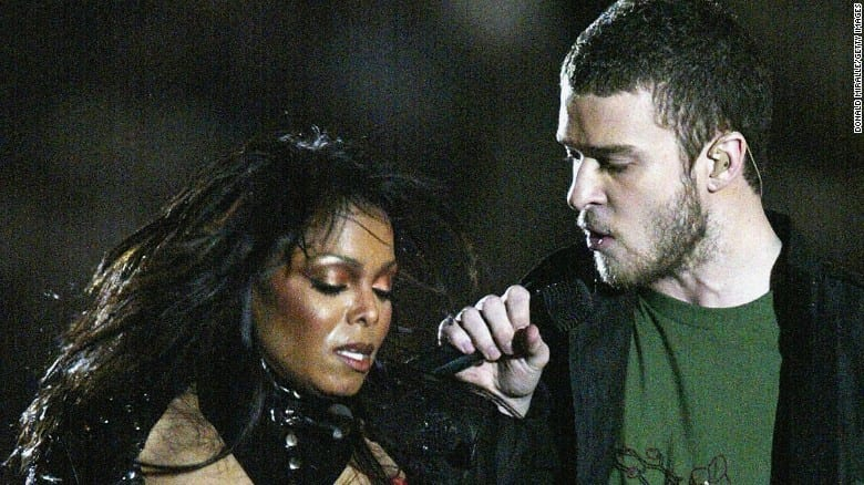 Justin Timberlake and Janet Jackson superbowl performance will always be overshadowed by the nipple slip incident making them one of the worst Superbowl singers