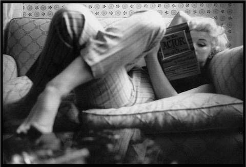 Marilyn loved reading