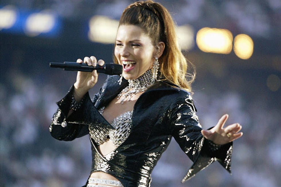 Shania Twain's lacklustre performance