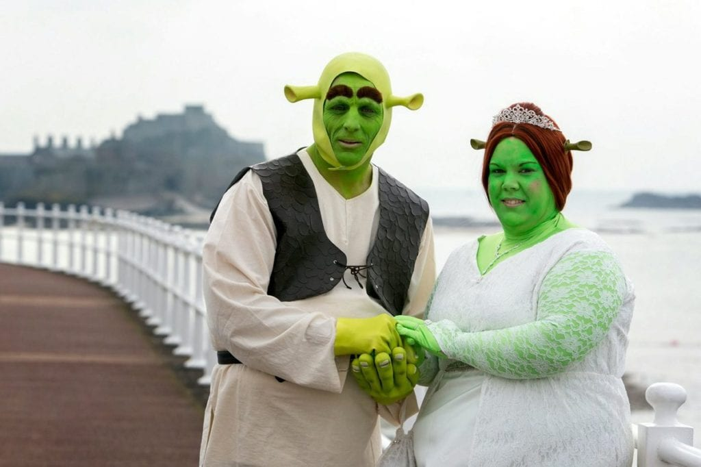 Top 5 Most Bizarre Wedding Themes