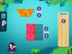 best phone apps for kids Fruity Fractions
