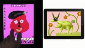 best phone apps for kids Faces iMake - Right Brain Creativity