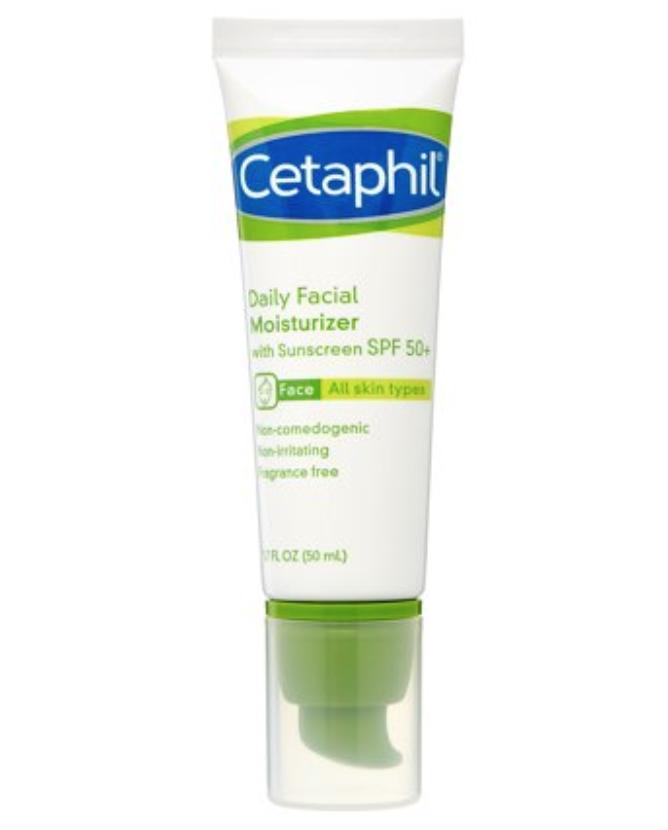 Cetaphil Daily Facial Moisturizer Broad Spectrum SPF 50