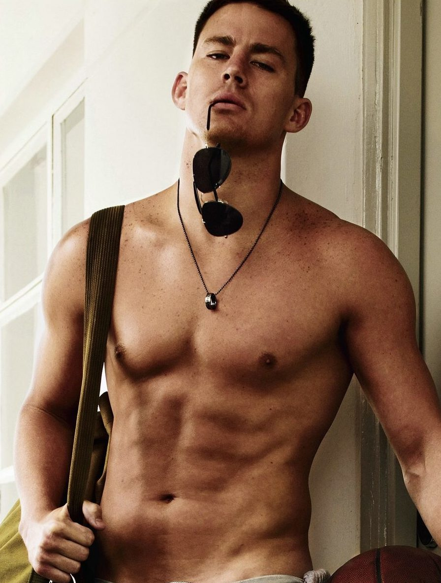 channing tatum most fit celebrity men