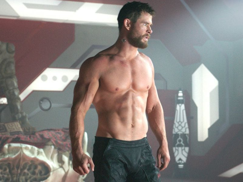 chris hemsworth most fit celebrity men
