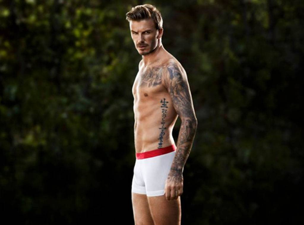 david beckham most fit celebrity men