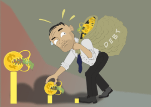 debt can hurt your credit score