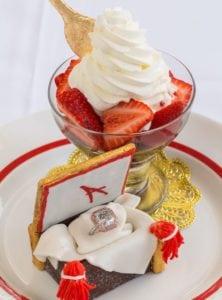 expensive desserts Strawberries Arnaud