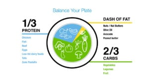The Zone diet is one of the most famous diets