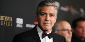 George Clooney's Hair Not Dyed