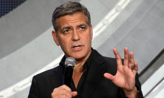 George Clooney broadcaster