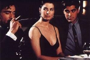George Clooney Smoking