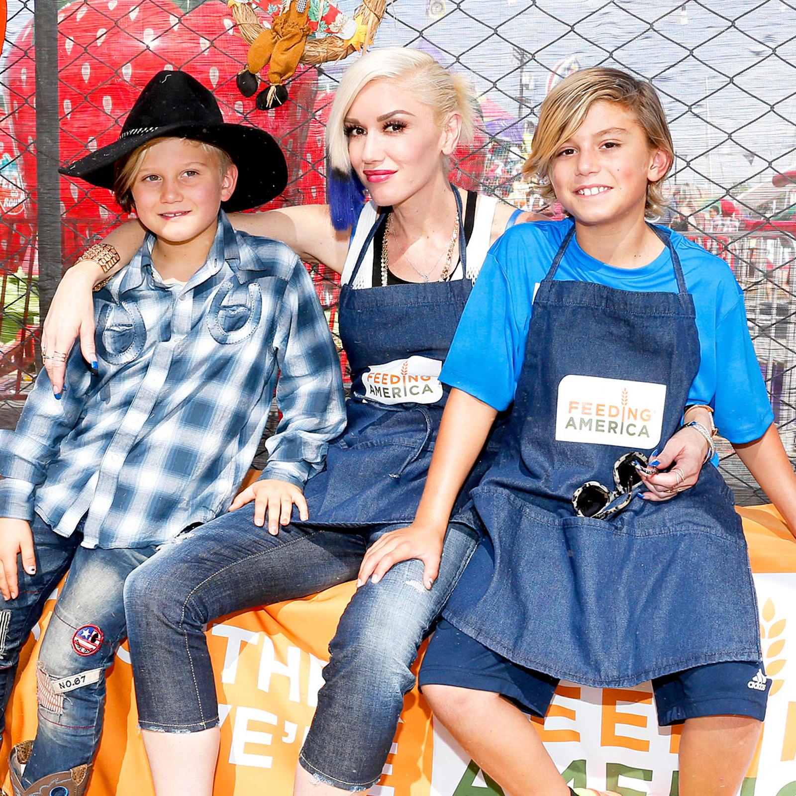 gwen stefani zuma rossdale celebrity children and kingston rossdale