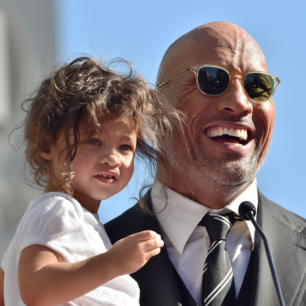 jasmine lia dwayne the rock johnson pictures celebrities kids