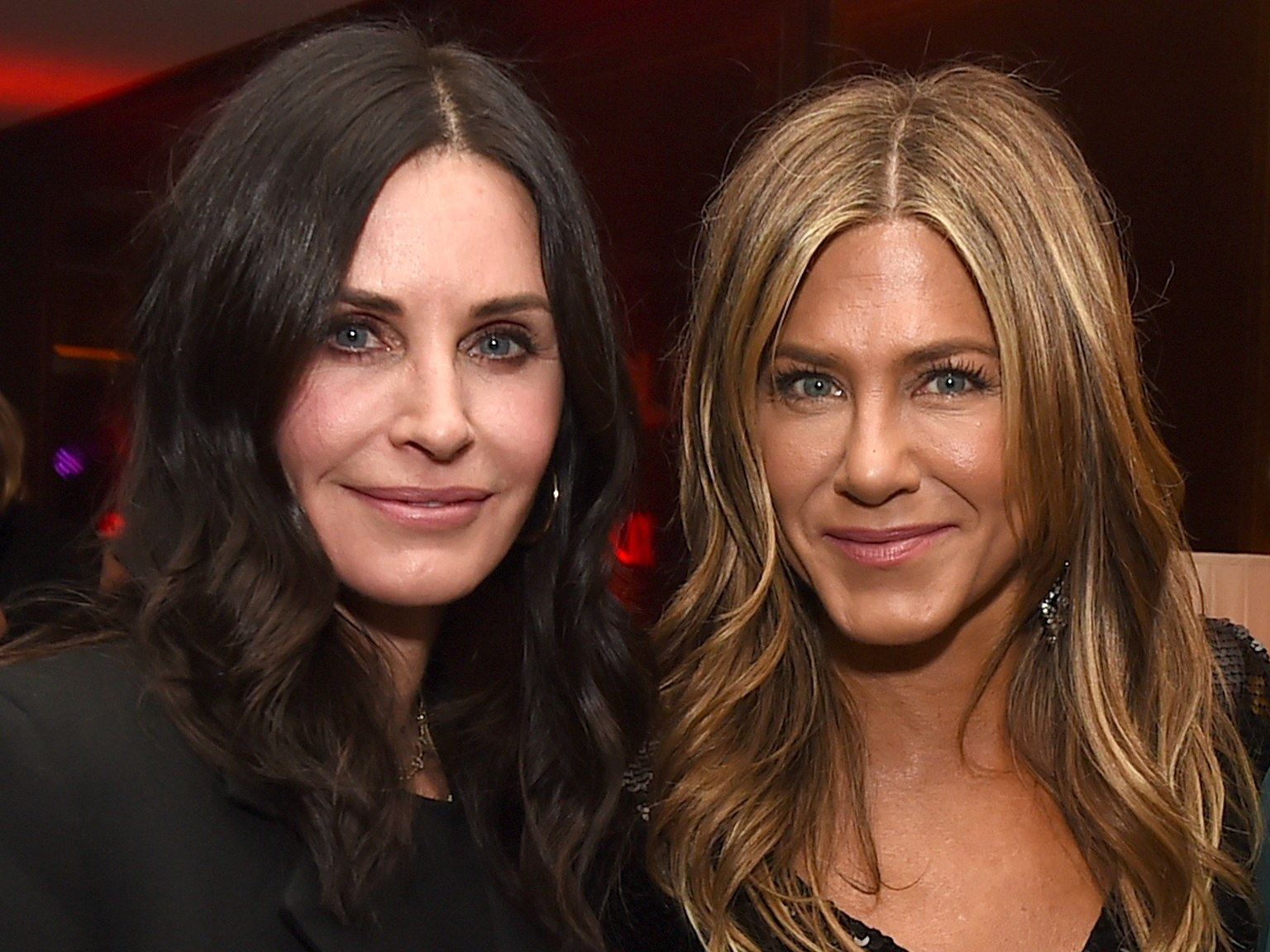 jennifer aniston courtney cox friends celebrities