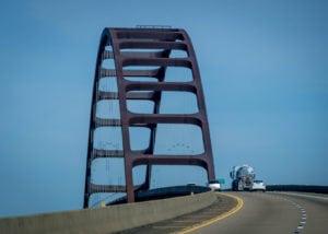 longest bridges in the us General W.K. Wilson Jr. Bridge