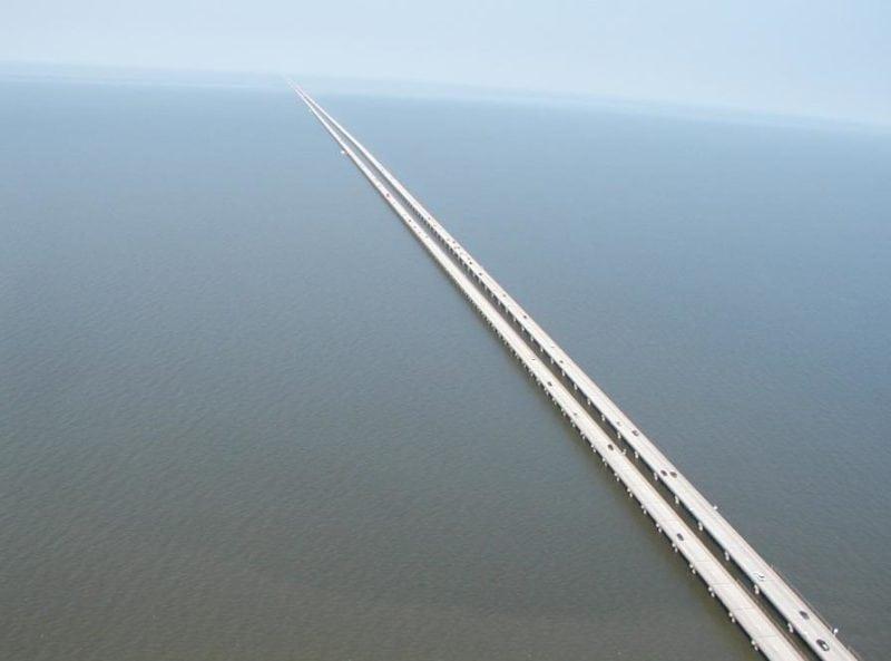 longest bridges in the us Manchac Swamp Bridge