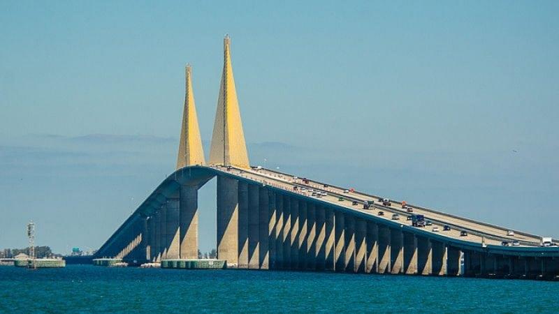 longest bridges in the us Sunshine Skyway Bridge