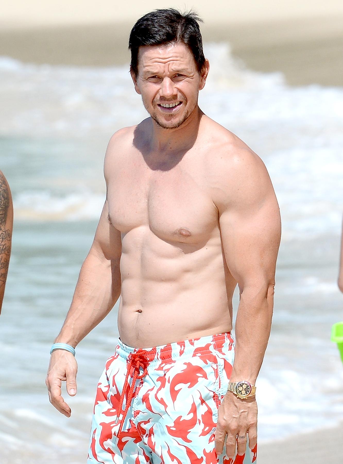 mark wahlberg most fit celebrity men