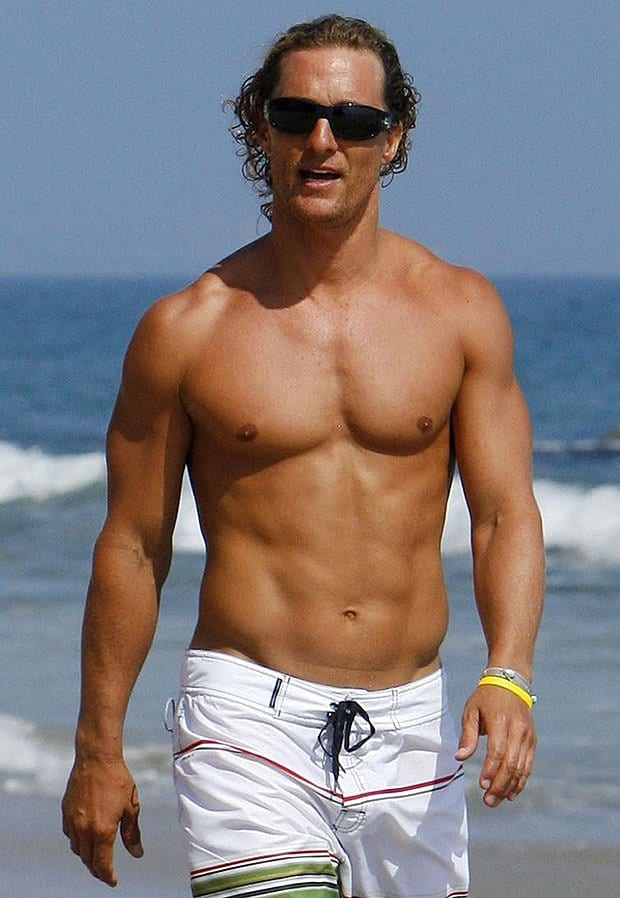 matthew mcconaughey most fit celebrity men