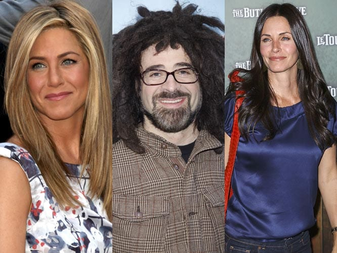 Adam Duritz dating Jennifer Aniston and Courtney Cox