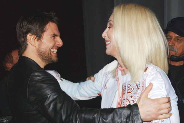 Cher and Tom Cruise were a mismatched celebrity couple