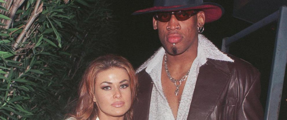 Bombshell beauty, Carmen Electra's relationship with Dennis Rodman