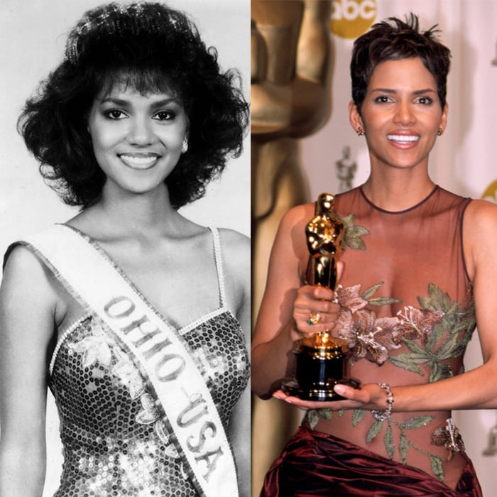 Halle Berry models who became actresses