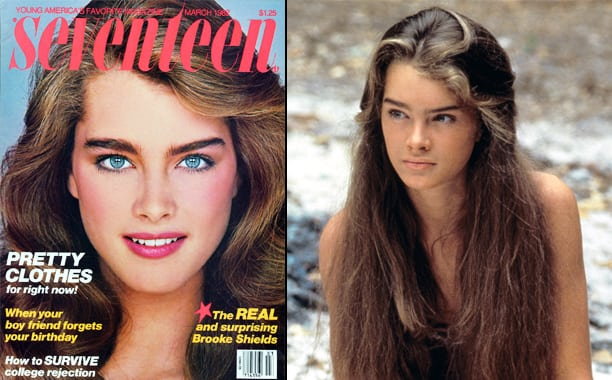 Brooke Shields models who became actresses