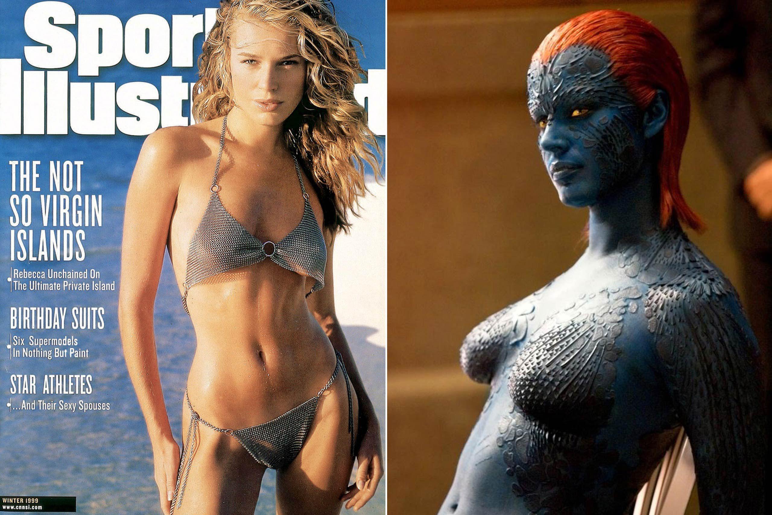 Rebecca romjin models who became actresses