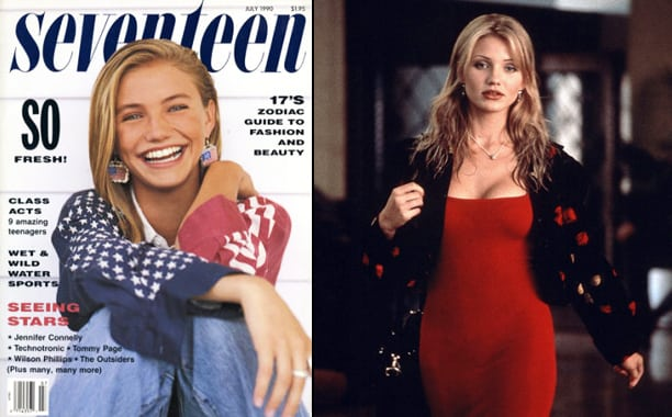 Cameron Diaz models who became actresses