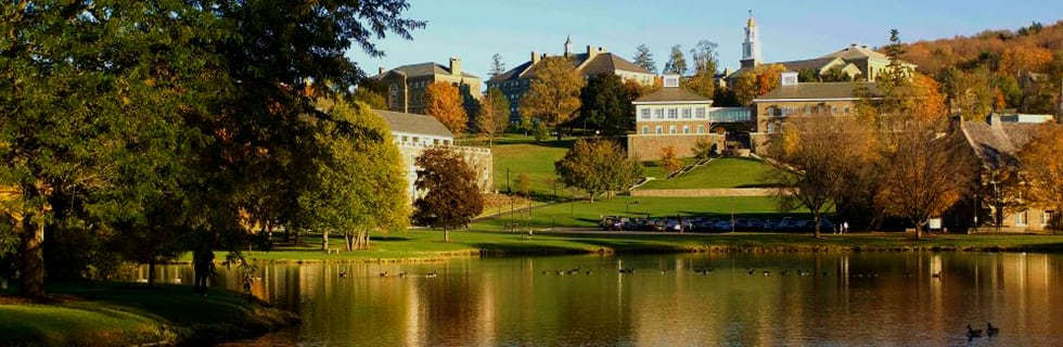 The Beautiful View of Colgate University - Colgate is one of the most beautiful college campuses in America