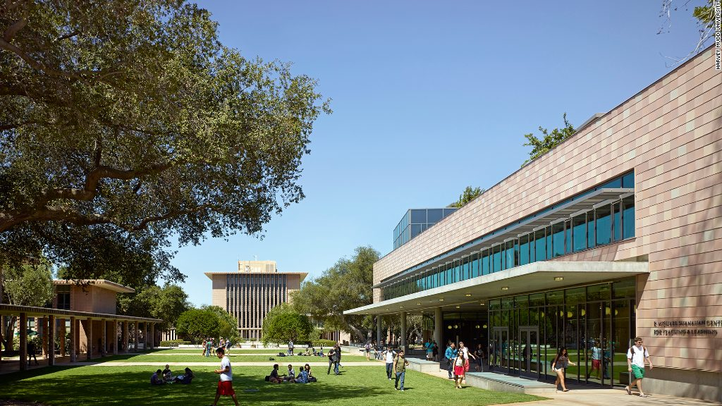 Harvey mudd is a private liberal arts college also on the list of schools with expensive tuition fees