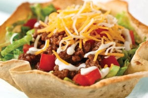Taco Salad Most Unhealthy Fast Food