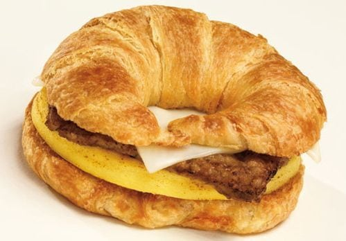 Breakfast Sandwich most unhealthy fast food