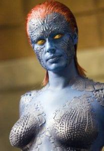 movie makeup mystique
