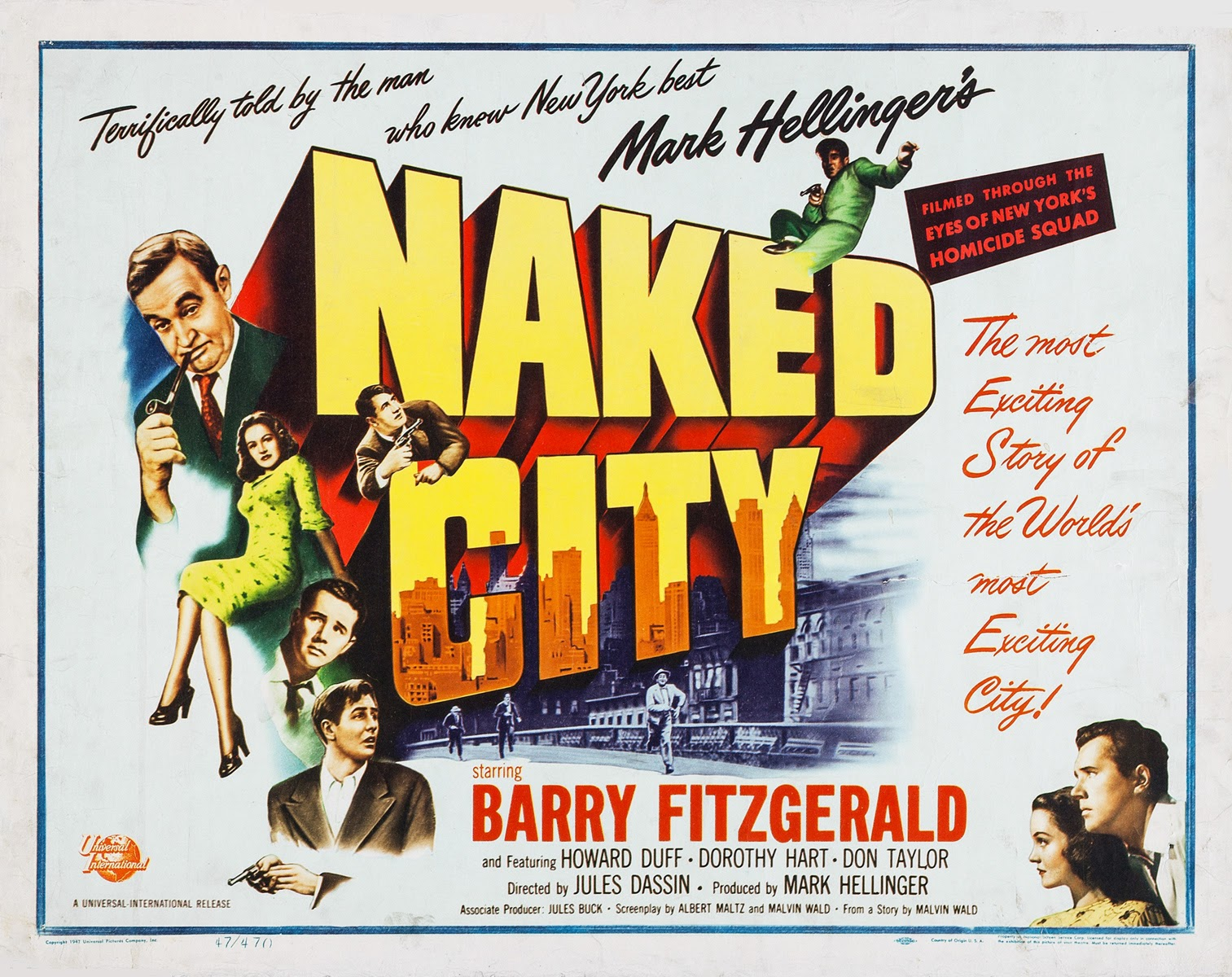naked city movie nyc