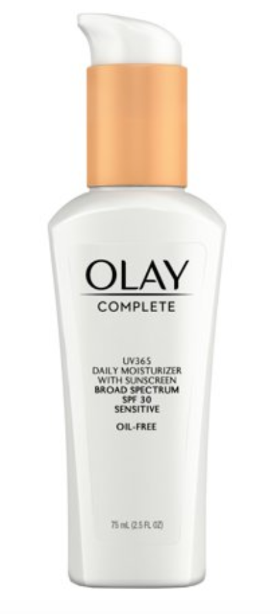 olay complete lotion moisturizer with spf 30
