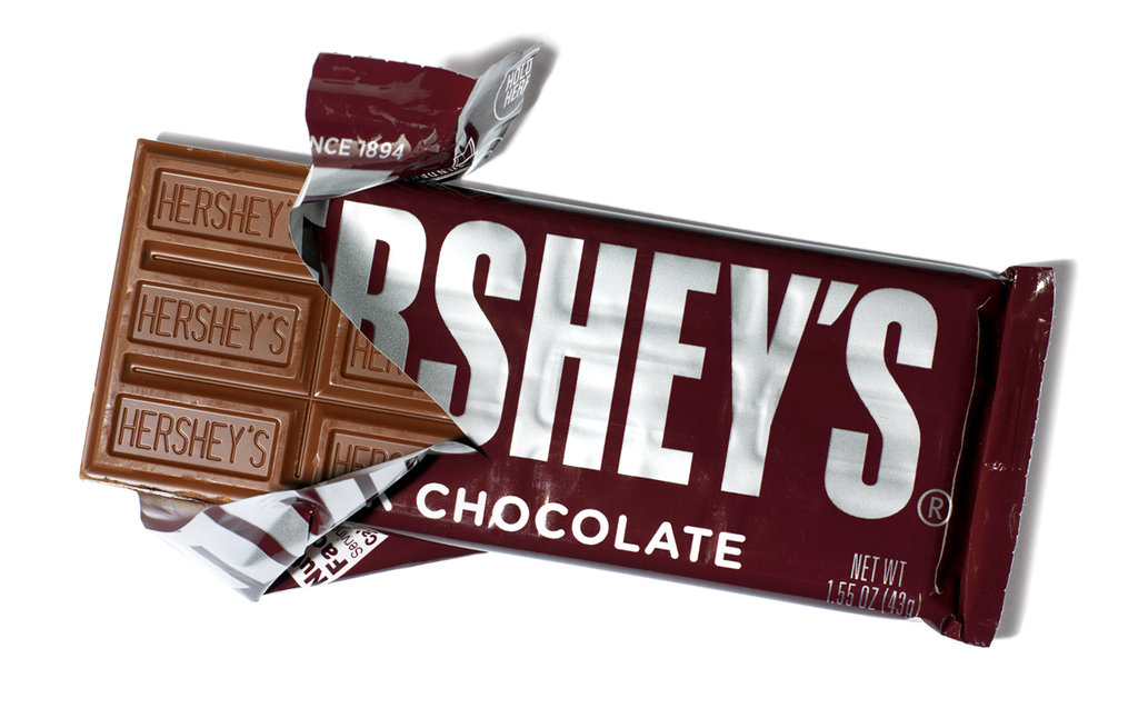 The Hershey Bar is also another popular Halloween Candy