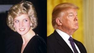 Donald Trump Crush on Diana - princess diana facts