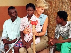 Raising money for AIDS - Princess Diana's Facts
