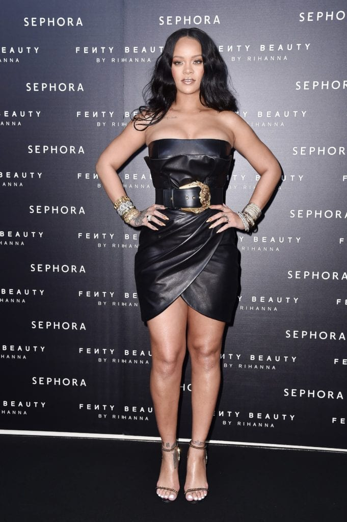 rihanna most fit celebrity women