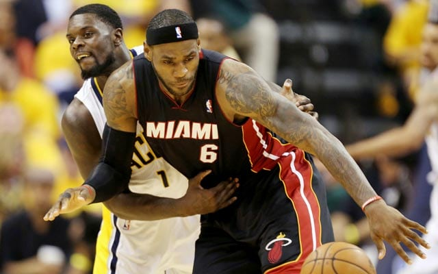 rules of basketball Lebron James fouled by opponent
