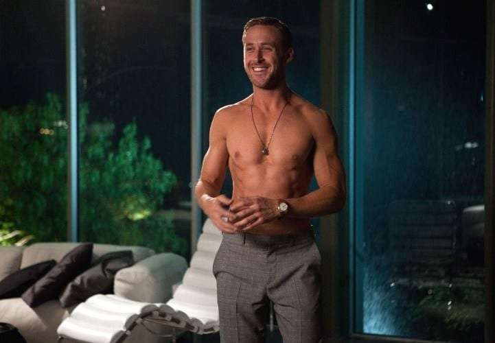 ryan gosling most fit celebrity men