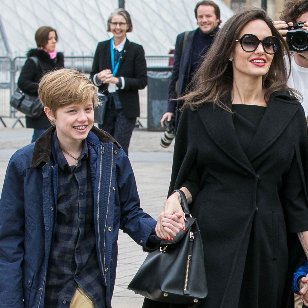 shiloh jolie pitt brad pitt angelina jolie celebrities pictures children